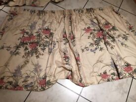 A pair of curtains, fully lined
