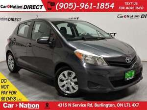 2014 Toyota Yaris LE| LOCAL TRADE| ONE PRICE INTEGRITY|