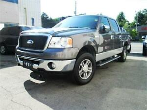 2007 Ford F150 4X4  Supercrew, ACCIDENT FREE,  Key less entry.
