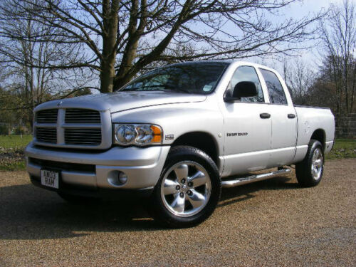2003 dodge ram 1500 5 7 hemi v8 4x4 laramie sport quad cab ebay. Black Bedroom Furniture Sets. Home Design Ideas