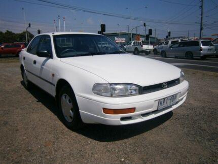 1996 Toyota Camry XV10 CSi White 5 Speed Manual Sedan Moorabbin Kingston Area Preview