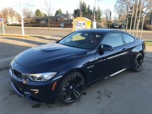 2016 BMW M4, 19k KMS, MANUAL, TANZANITE BLUE