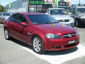 2009 Holden Commodore VE MY09.5 International Red Passion 4 Speed Automatic Sedan Hoppers Crossing Wyndham Area Preview