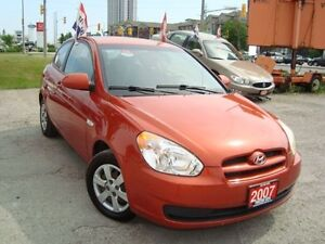 2007 Hyundai Accent GL Hatch. 2DR  Only 139km Rust Free