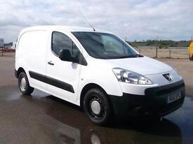 Peugeot Partner L1 850 S 1.6 HDI 92 BHP VAN DIESEL MANUAL WHITE (2012)
