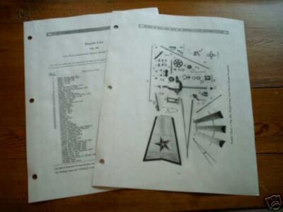 Heller-Aller Windmill Parts List Model 25 Run-in Oil