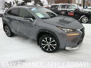 2016 Lexus NX 200t F Sport AWD! ALLOYS! MOONROOF! HEATED LEATHER