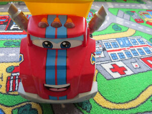 ****Tonka Chuck and Friends Race Along Chuck [Rarely used]****