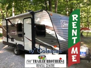 TRAVEL TRAILER FOR RENT for Fall Camping