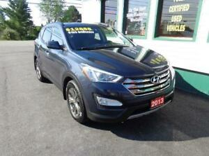 2013 Hyundai Santa Fe Premium for only $143 bi-weekly all in!
