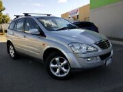 2008 Ssangyong Kyron D100 MY08 Upgrade 2.0 XDI Silver 5 Speed Manual Wagon Malaga Swan Area Preview