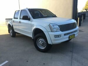 2005 Holden Rodeo RA MY06 LX Utility Crew Cab 4dr Auto 4sp 3.6i White Automatic Utility Villawood Bankstown Area Preview