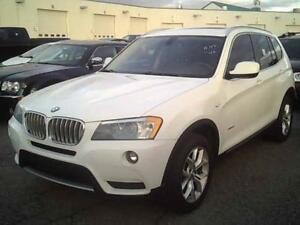 2013 BMW X3 28I/4WD*PANORAMA ROOF* FINANCEMENT $59 SEMAINE