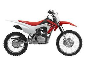 New 2016 Honda CRF125F (Big Wheel)