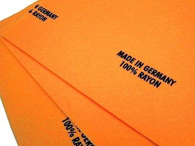 "Chamois Towels 3 Large 27"" x 20"" German Shammy Chamois Towels! Wash, Dry, Polish"