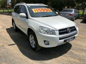 2011 Toyota RAV4 ACA33R MY11 Altitude White 4 Speed Automatic Wagon Dandenong Greater Dandenong Preview