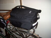 Velo- sac pour support arriere-4 compartiments-impermeable-Damco