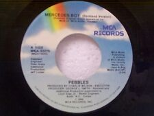 "PEBBLES ""MERCEDES BOY / INSTRUMENTAL"" 45 
