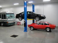 Indoor Heated Storage for Cars