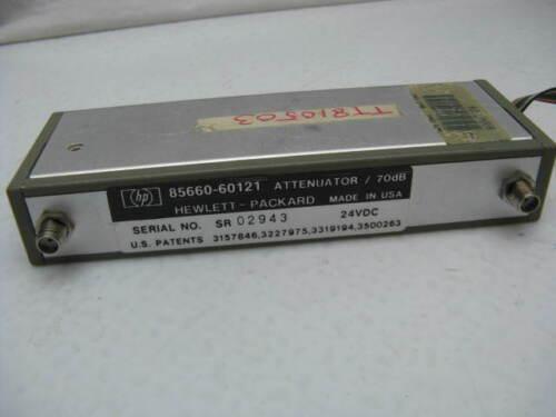 HP 85660-60121 70dB  Attenuator 24 VDC ~ Hewlett Packard