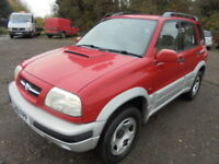 Suzuki Grand Vitara TDi Automatic, FULL SERVICE HISTORY, ONE OWNER FROM NEW (red) 1999