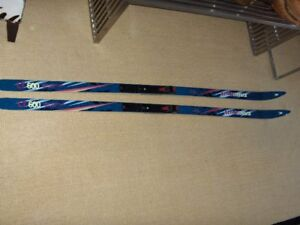 Cross Country Skis and Boots and Poles