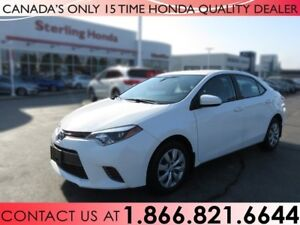 2015 Toyota Corolla LE | NO ACCIDENTS