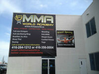 FULL COLOR BANNERS - GREAT PRICES - BANNER INSTALL AND TAKEDOWNS