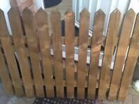 Garden gates (various sizes)