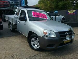 2009 Mazda BT-50 09 Upgrade Boss B2500 DX Silver 5 Speed Manual Cab Chassis Greenacre Bankstown Area Preview