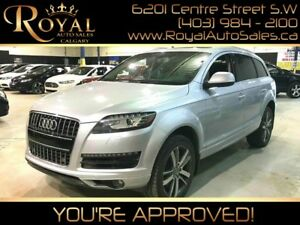 2013 Audi Q7 3.0L TDI Premium w/ POWER EVERYTHING, LEATHER, NAV