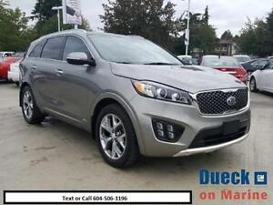 2016 KIA SORENTO 2.0L TURBO SX ($270-bi weekly) Call 604-5061196