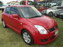 2007 Suzuki Swift RS415 GLX Maroon 5 Speed Manual Hatchback Kippa-ring Redcliffe Area Preview