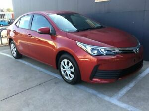 2018 Toyota Corolla ZRE172R Ascent S-CVT Red 7 Speed Constant Variable Sedan Stuart Park Darwin City Preview