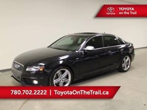 2010 Audi S4 S4; SUNROOF, LEATHER, HEATED SEATS, AWD, BUTTON ST