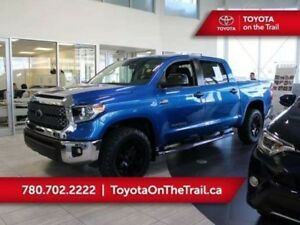 2018 Toyota Tundra CUSTOM TRD OFFROAD CREWMAX 4WD *TRD LEATHER,