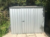 Garden Shed - Metal/Zinc - only 6 months old