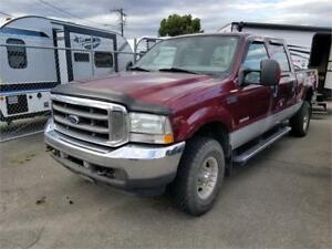 2004 Ford F-350 LARIAT LEATHER LOADED CREW DIESEL 4X4 7' BOX