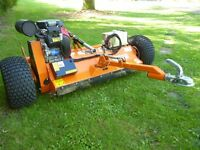CHAPMAN 120 ATV FLAIL MOWER TOW for quad petrol honda engine