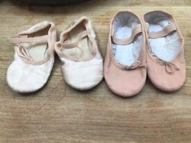 Girl's ballet shoes ballet slippers