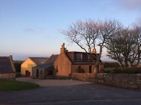 Fully Furnished Farm House. 10min from Fraserburgh.