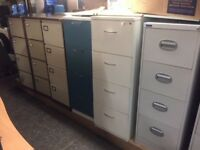USED FOUR DRAWER FILING CABINETS