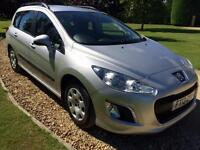 2013 Peugeot 308 SW/ESTATE 1.6HDi ( 92bhp ) FAP Access 28,000 MILES IMMACULATE