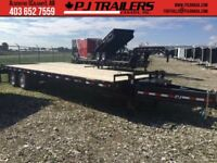 PJ Trailers 30' Classic Pintle with Duals, 25K GVWR (PDP) Calgary Alberta Preview