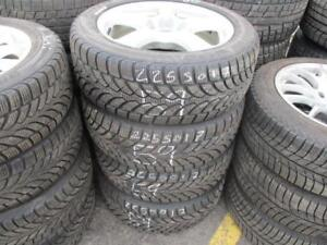 225/50 R17 MERCEDES E-CLASS WINTER TIRES AND RIMS PACKAGE (SET OF 4) - USED BRIDGESTONE BLIZZAK TIRES APPROX. 80% TREAD