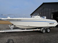 WELLCRAFT 24 center console 250 efi MERCURY