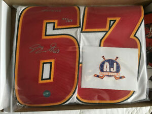 SAM BENNETT autographed special edition rookie #63 jersey(C.O.A)