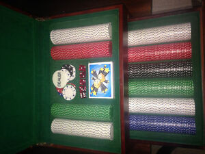 Special edition poker set