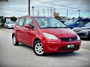 2008 Mitsubishi Colt RG MY08 ES Red 5 Speed Manual Hatchback Cheltenham Kingston Area Preview