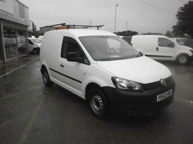 Volkswagen Caddy C20 1.6 Tdi 75Ps Van DIESEL MANUAL WHITE (2012)